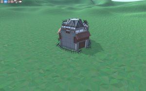 Внешний вид красивого дома для 2-3 игроков в Rust