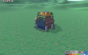 Стабильность красивого дома для 2-3 игроков в Rust