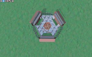 Первый этаж красивого дома для 2-3 игроков в Rust