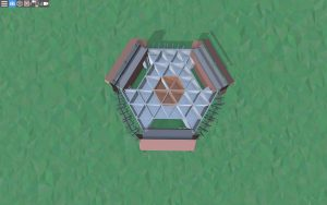 Второй этаж красивого дома для 2-3 игроков в Rust