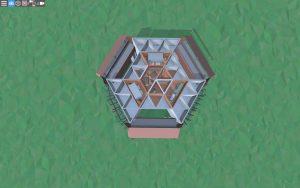 Третий этаж красивого дома для 2-3 игроков в Rust
