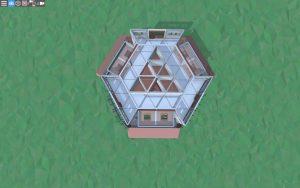 Четвёртый этаж красивого дома для 2-3 игроков в Rust