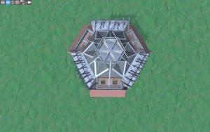 Пятый этаж красивого дома для 2-3 игроков в Rust