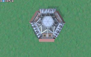 Крыша красивого дома для 2-3 игроков в Rust