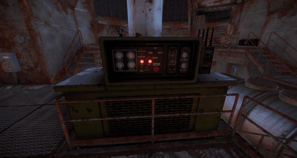 Активация экскаватора в Rust