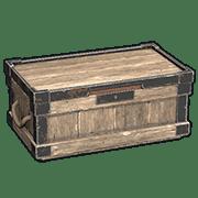 Большой деревянный ящик в Rust
