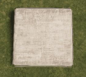 Бронированный квадратный фундамент в Rust