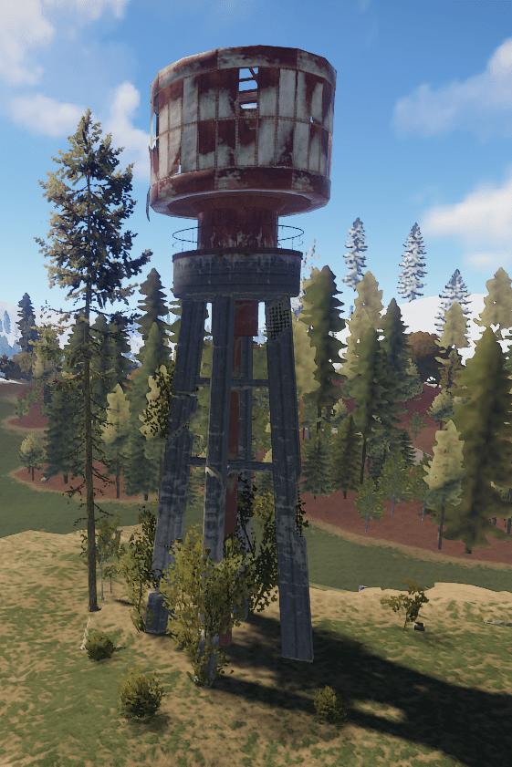 Водонапорная башня на РТ Водоочистная станция в Rust