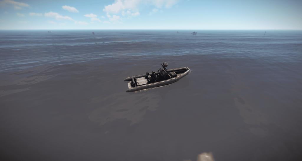 Военная лодка в Rust