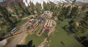 Военные туннели в Rust
