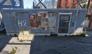 Второе здание головоломки маленького порта в Rust