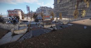 Второй боковой вход на РТ Космодром в Rust