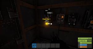 Вывод энергии из первого разветвителя (Первый разъём) в Rust
