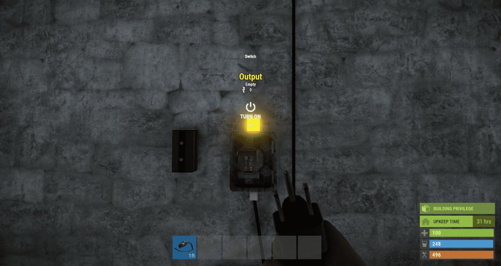 Вывод энергии из переключателя в Rust