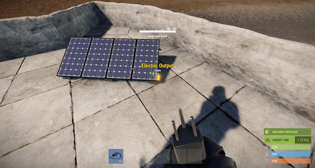 Вывод энергии из солнечной панели в Rust