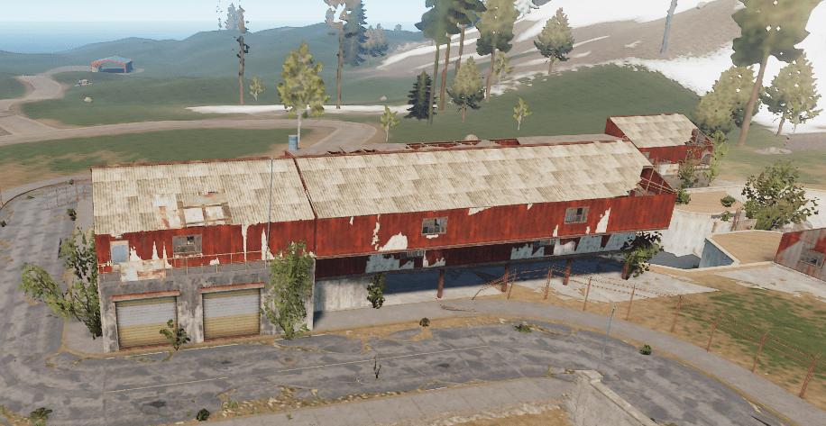 Главное здание водоочистной станции в Rust