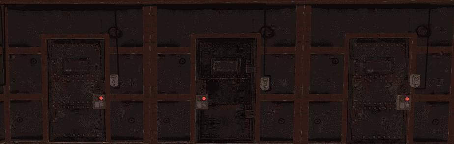 Дверные контроллеры у дверей в Rust