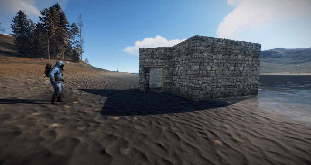 Дом-ловушка с HBHF-датчиком в Rust