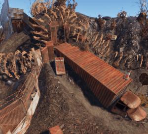 Заржавевший грузовик на РТ Свалка в Rust