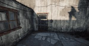 Зелёная заблокированная дверь в Rust