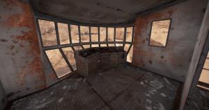 Кабина управления ковшом экскаватора в Rust