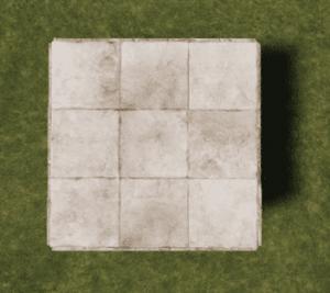 Каменный квадратный фундамент в Rust (Слабая сторона)