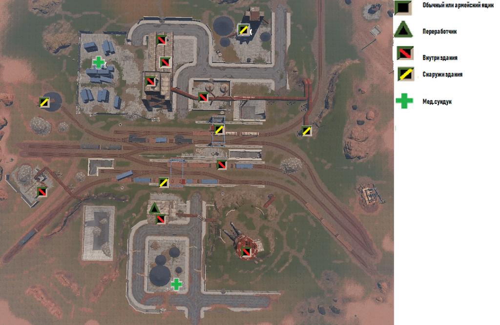 Карта РТ Депо в Rust