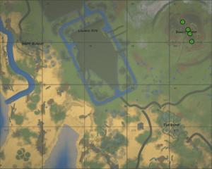 Карта в Rust на английской версии