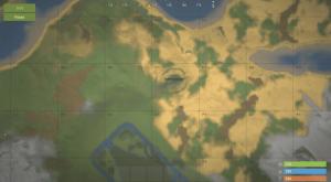 Карьер, добывающий МВК руду на внутриигровой карте в Rust