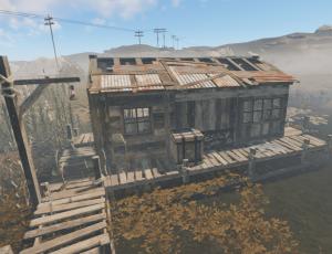 Маленький заброшенный домик в Rust