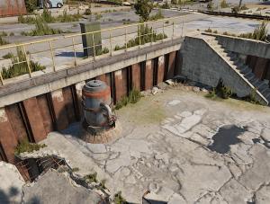 Малый НПЗ в маленьком порту в Rust