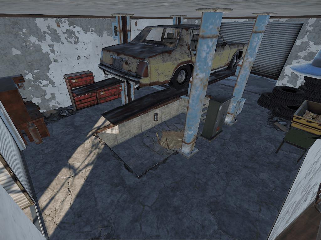 Мастерская заправки в Rust