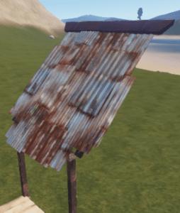 Металлическая крыша в Rust