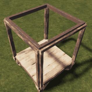 Металлический потолочный каркас в Rust
