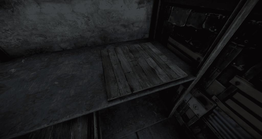 Нажимная плита, установленная над точкой входа в Rust