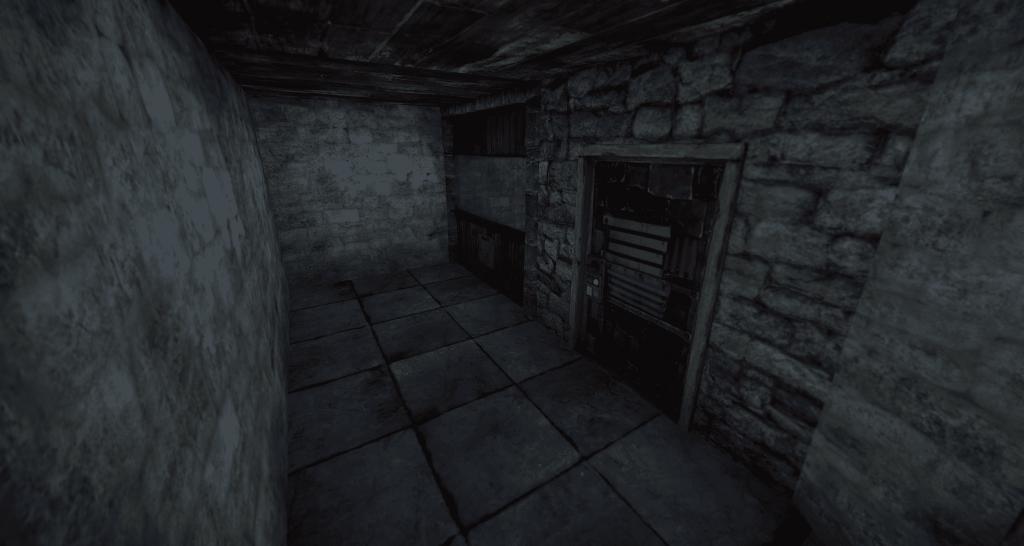Не обустроенная комната-ловушка в Rust