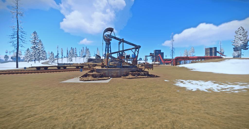 Нефтяной карьер в Rust