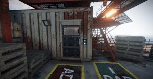 Обычная защитная дверь в Rust
