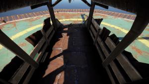 Отсек для пассажиров транспортного вертолёта в Rust