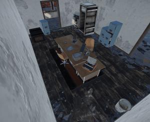 Офис на заправке в Rust