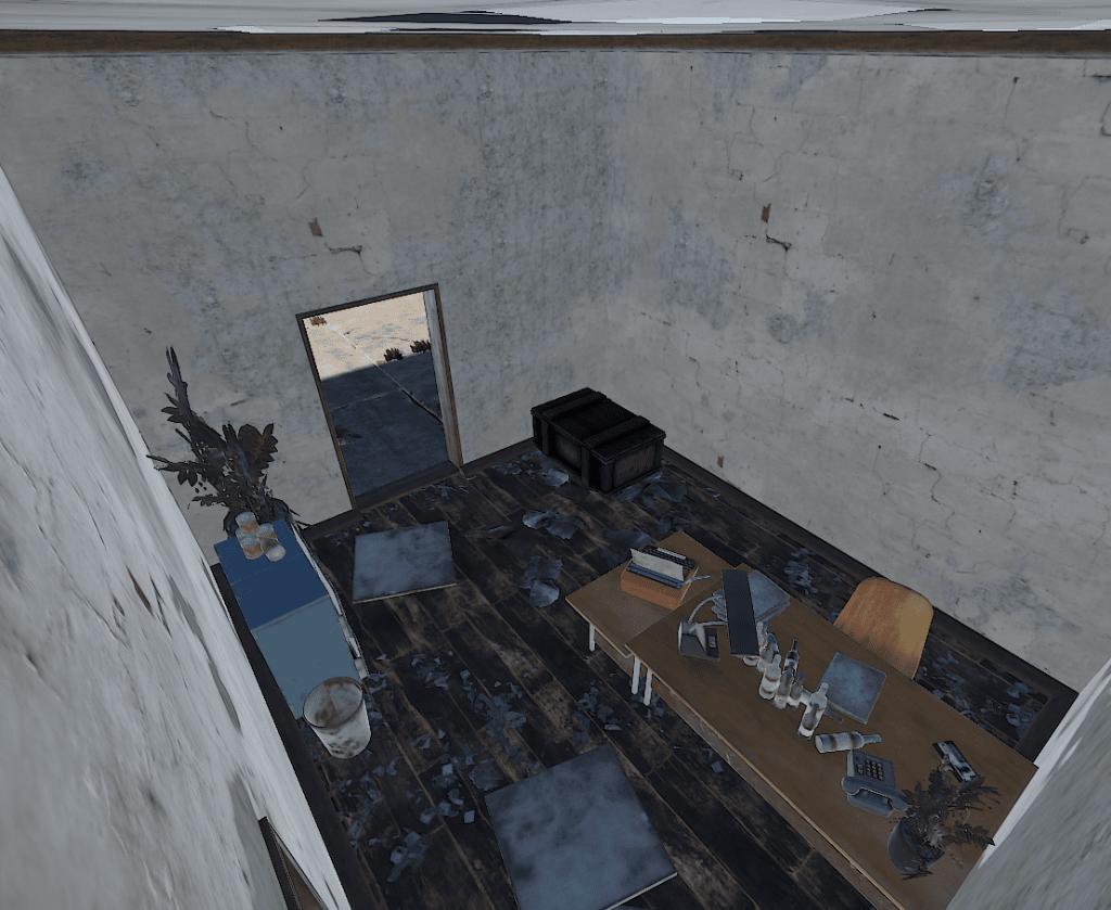 Офис супермаркета в Rust