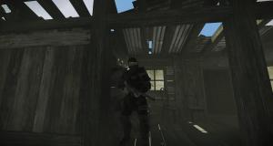 Охранник в городе бандитов в Rust