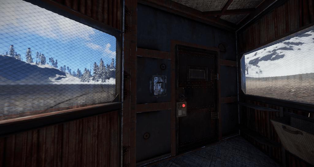 Переключатель, установленный на выходе в Rust