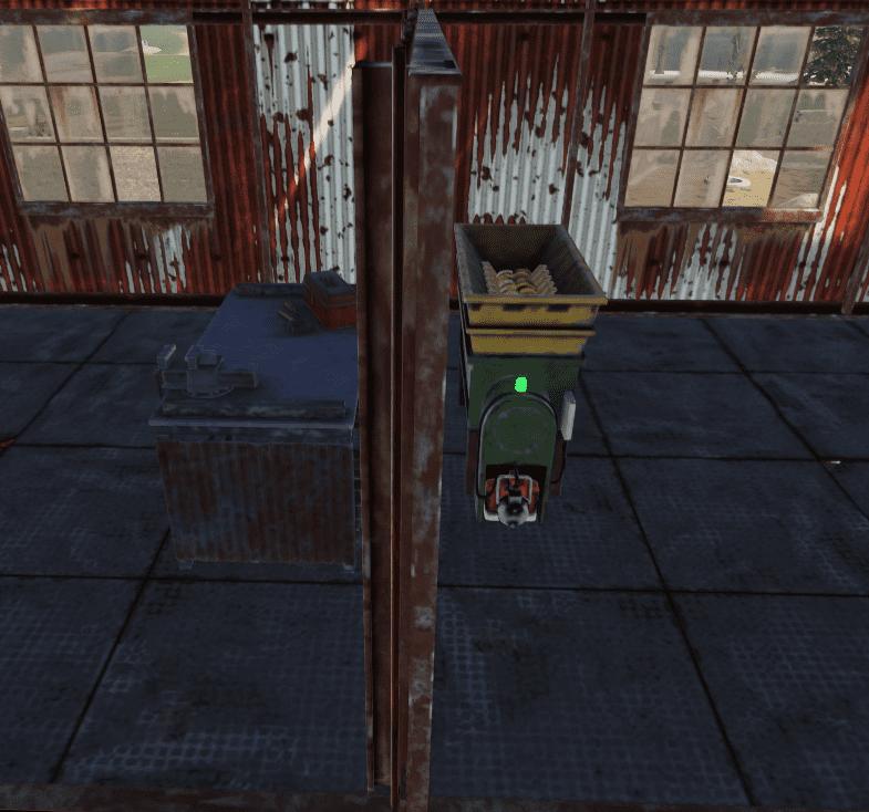 Переработчик и ремонтный верстак на РТ Водоочистная станция в Rust
