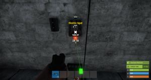 Подача энергии на переключатель в Rust