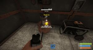 Подача энергии на турель в Rust