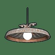 Потолочный светильник в Rust