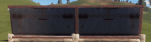 Правильная и неправильная бронированная полустенка в Rust