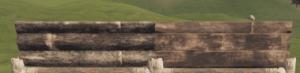 Правильная и неправильная деревянная низкая стенка в Rust