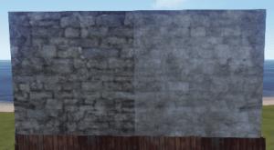 Правильная и неправильная каменная стена в Rust
